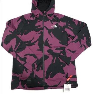 North Face purple camp large new coat jacket